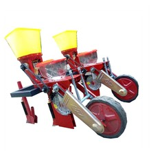 Corn planter with fertilizer tractor mounted corn planter seeder