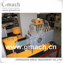 Plastic PP yarn extrusion mahcine used automatic continuous screen changer