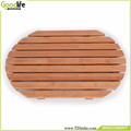 Bathroom floor model bath vanity bamboo bath mat anti water for shower