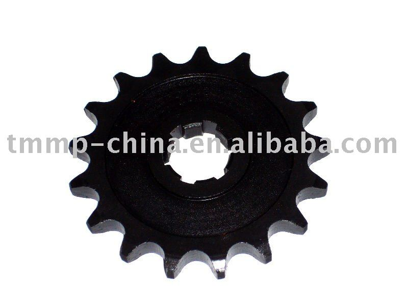 TMMP motorcycle MINSK 428-17T TH=7mm small sprocket(black oxide coating) [MT-0403-3921B4-4] oem quality