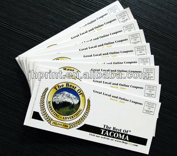 printing professional coupon book