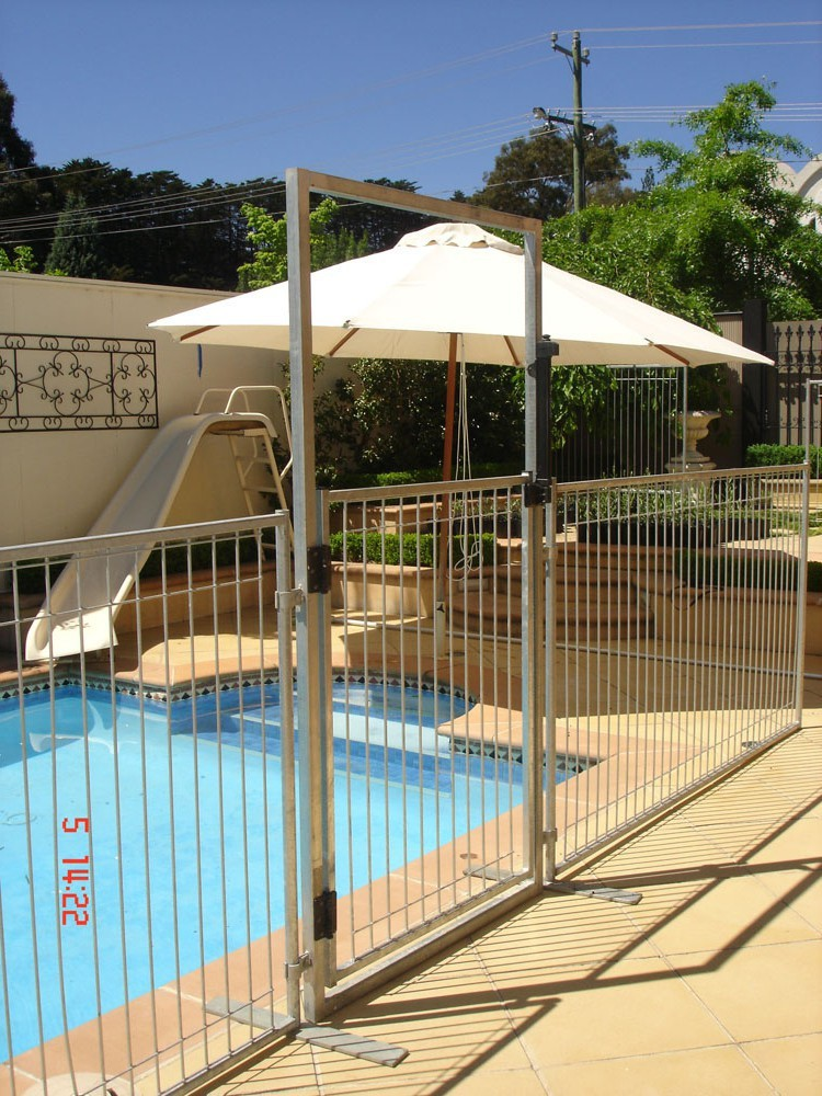 Welded swimming pool fence for protect kids safety buy