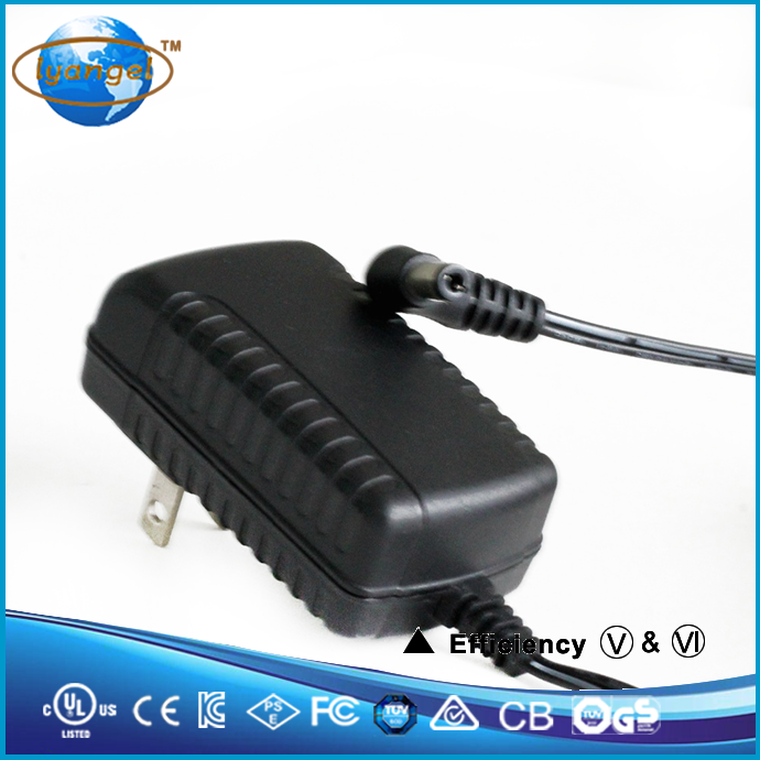 12v 1a switching power supply Wall-mounted 12V 1A adapter US Energy Efficiency 6 AC / DC power adapter