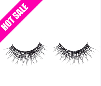 False eyelash private label eyebrow lash extension human hair