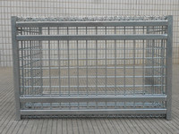 Good Quality Foldable Storage Wire Mesh rack For Warehouse