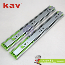 45mm full extension push to open drawer slides ball bearing touch open slides