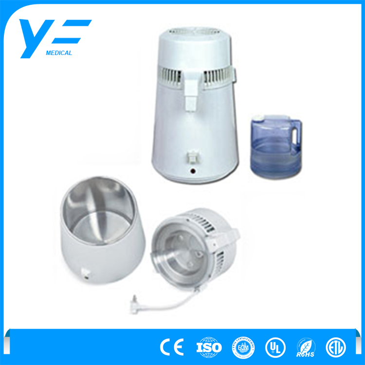 1.5L/h Heating Source Laboratory Steamed Water Distiller
