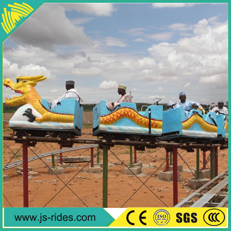 High quality golden supplier amusement park sliding dragon