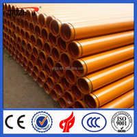Placing boom used concrete pump pipe wear resistant boom pipe