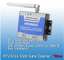 GSM sliding gate operator,The relay close or open time is programmable
