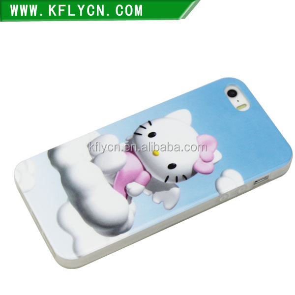 sublimation printing cell phone cover case for iphone 5