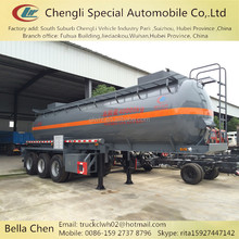 2 Axles and 3 Axles Hydrochloric Acid Tanker Semi Trailer