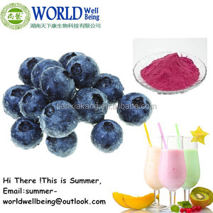 Organic Freeze Dried Blueberry Powder/Freeze Dried Blueberry Juice Powder/Freeze Dried Blueberry Fruit Powder