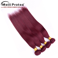 #99J Natural Girl Brazilian Hair Weave 100% Human Hair Braiding Clip In Extension Straight Hair