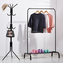 Standing Coat Rack Hat Hanger Holder Hooks for Jacket Umbrella Tree Stand with Base 11 Hooks Rack