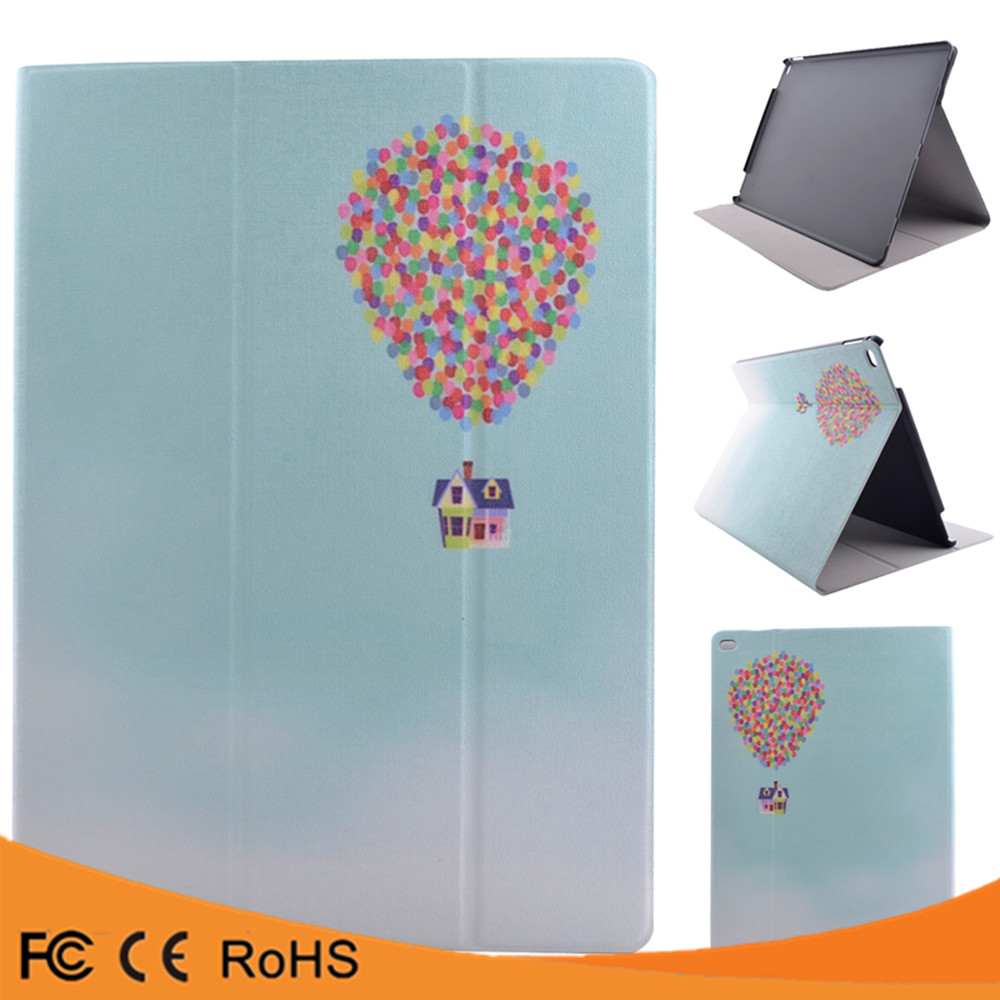 Luxury custom colorful stand flip pu leather shockproof tablet case for ipad mini 4