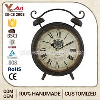 Fashion Design Custom Fit Promotional Desk Clock Antique Chinese Clocks