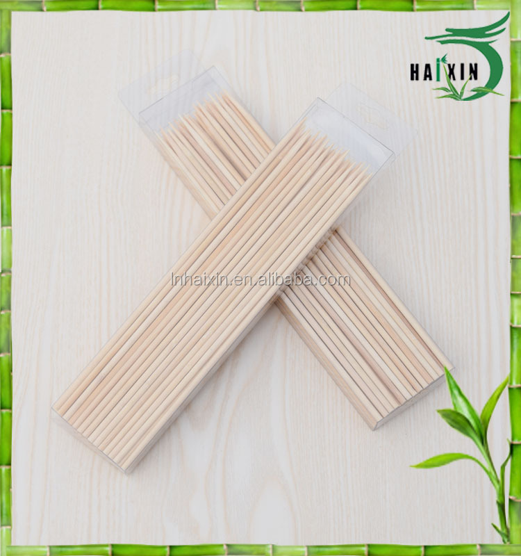 Wholesale Bamboo Skewers Sticks For Barbecue BBQ