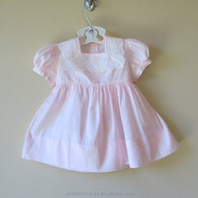 Lovely Baby Party Dress Lace Picture Fashion Clothing Peach Color Baby Girls Dress
