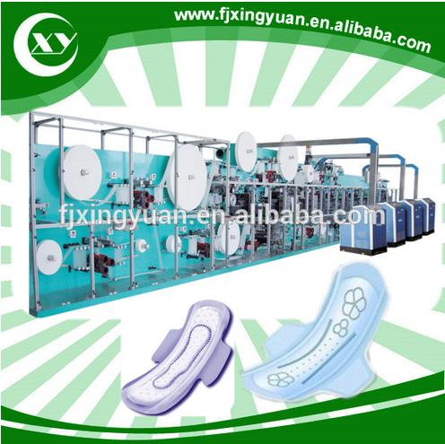 Disposable ladies sanitary woman pads making machine