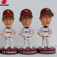 Sport Baseball Player Polyresin Bobble Head Collectibles