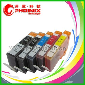 Ink Cartridge Replace for HP 564xl BK, 564xl PBK , 564xl C, 564xl M, 564xl Y