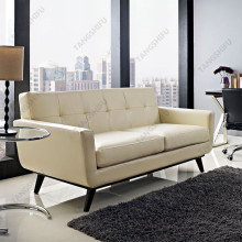 Modern design high quality hardwood frame and high quality bonded leather home furniture sofa