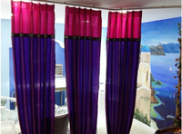 the middle East classic style blackout curtain for Massage Therapy occasion