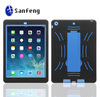 Silicone case tablet pc case for ipad apple kickstand