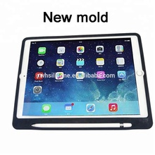 For New 2018 iPad Pro 9.7 Case With Soft Silicone Back Cover Skin For Ipad