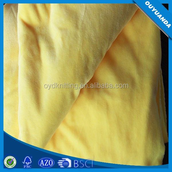 Polyester Short Pile Crystal Velboa Fabric Super Soft Hand Feeling U Shape Pillow Material Fabric