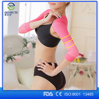 New products 2015 Arm Slimming Sleeves ,Shoulder Back Posture ,Long Slimming Arm shaper