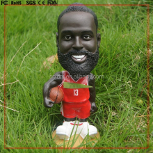 Custom 4inch POP baseketball player bobble head toy/Make custom resin bobble head toy/make your own POP bobblehead toys