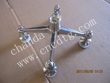 stainless steel curtain wall glass casting spider,spider glass system,architectural spider