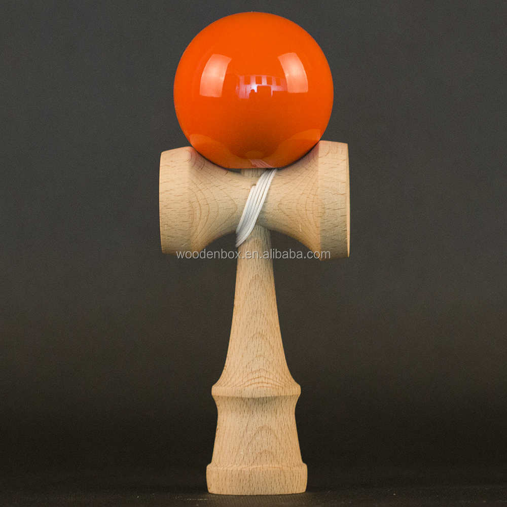 Popular kendama color sticky paint tamas classic design wholesale