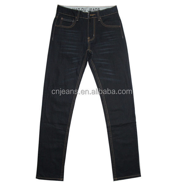 GZY 2014 fashion stock lot wholesale cheap for Africa men new style jeans