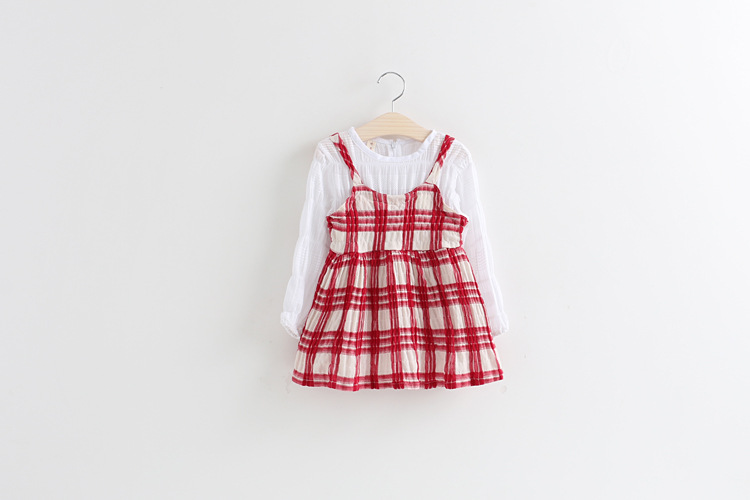 2016 Girls Spring Outfits Dress For Kids Gril Baby Frocks Designs For 3 Years Old Girl Wear