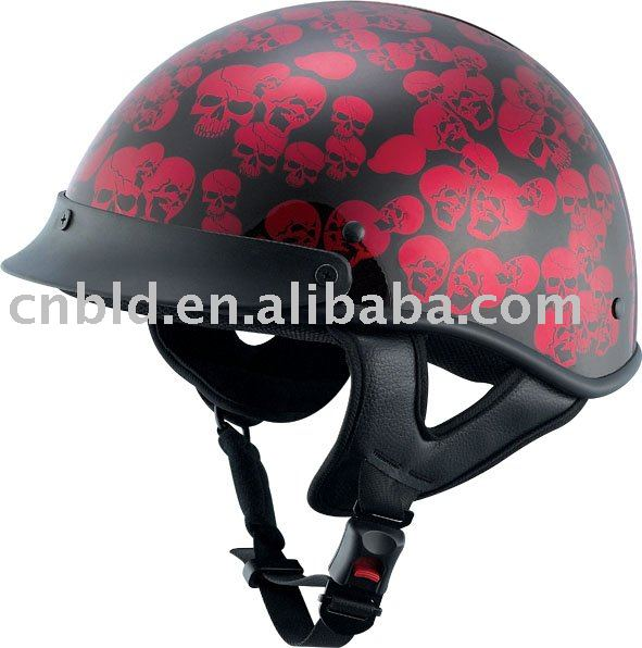 Motorcycle Harley Helmet/open face helmet/ colored helmets harley/BLD-150