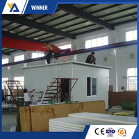 100mm 1200mm eco friendly fire rated cheap sandwich panel price m2 interior wall paneling eps cement sandwich panel