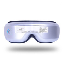 hot sale 180 Degree folded Electric Automatic musical wireless Eye Massager with hot compress