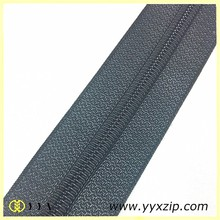 Supper quality #5 weave long chain nylon zipper