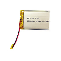 Ultra thin digital camera rechargeable battery ds-sd20 3.7v 1000mah with PCM