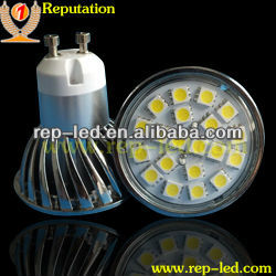 CE&ROHS super brightness E27 GU10 MR16 B22 smd 5050 3.5W led spotlight