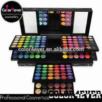 Cosmetic wholesale distributor create your own brand cosmetics 180 color makeup palette