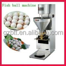 Human resources saving meatball forming machine