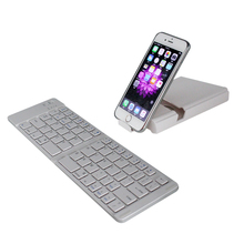 best quality alimunum 66keys for ipad air bluetooth keyboard For mobile phone