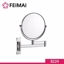 8 Inch Modern Style Vanity Magnifying Mirror Brass Swivel Make Up Mirror 8224
