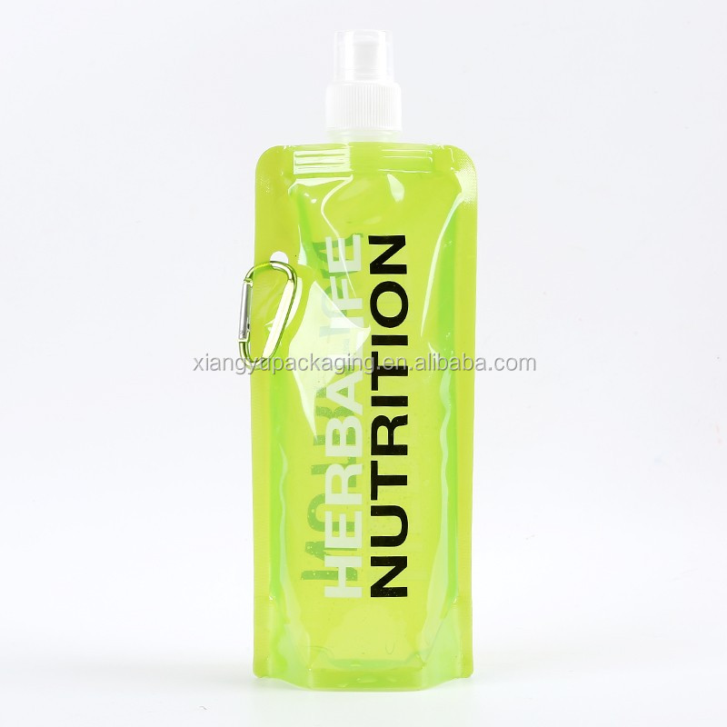 16 oz water bottle/480 ml foldable liquid food packing