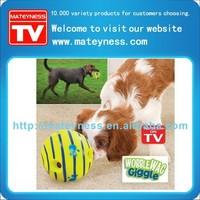 Wobble Wag Giggle Dog Ball Keeps Dogs Happy