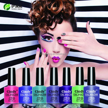Stock Offer Free sample CINDY soak off UV gel nail polish supply